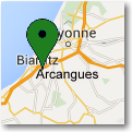 where is the restaurant du trinquet in arcangues?